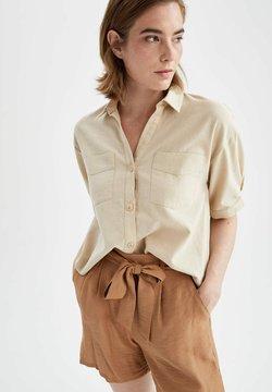 DeFacto - CROPPED FIT  - Koszula - beige