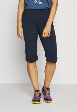 Jack Wolfskin - ACTIVATE LIGHT 3/4 PANTS - Urheilucaprit - midnight blue