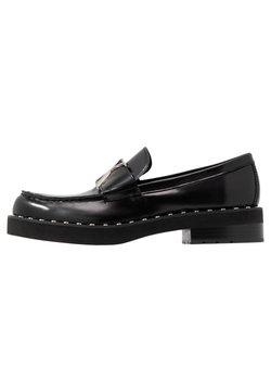 Calvin Klein Jeans - NORWOOD - Instappers - black