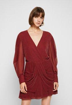 Iro - BREJA - Cocktailkleid/festliches Kleid - burgundy/silver