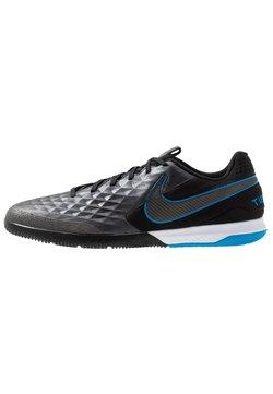 Nike Performance - TIEMPO REACT LEGEND 8 PRO IC - Halówki - black/blue hero
