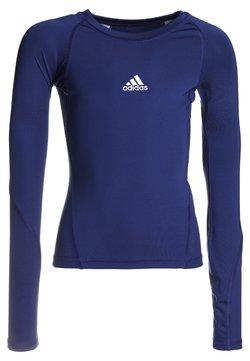 adidas Performance - ASK TEE - Unterhemd/-shirt - dark blue