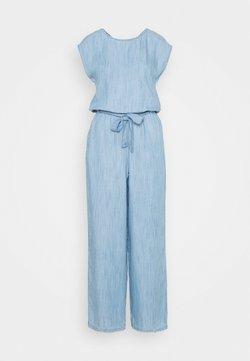Esprit - OVERALL - Combinaison - blue bleached