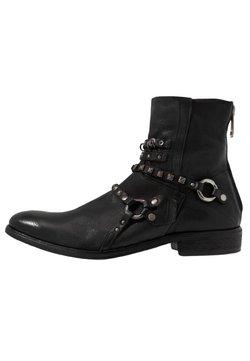 A.S.98 - MASON - Cowboy/biker ankle boot - nero