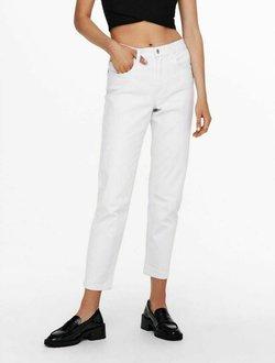 JDY - Jeansy Straight Leg - white