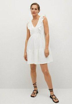 Mango - Sukienka letnia - gebroken wit
