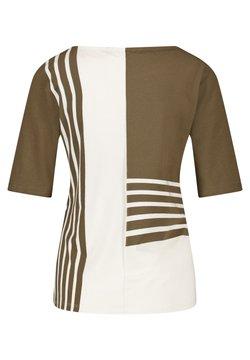 Gerry Weber Casual - T-Shirt print - green,beige,white