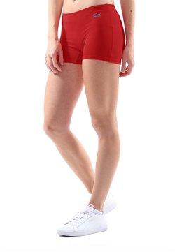 SPORTKIND - kurze Sporthose - bordeaux rot