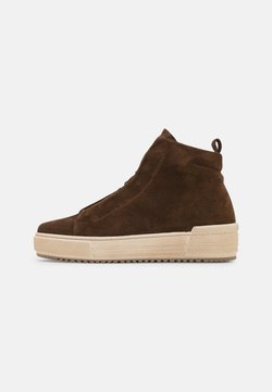 Gabor Comfort - Platform ankle boots - whisky