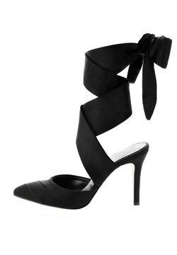 PRIMA MODA - Korolliset sandaalit - czarny