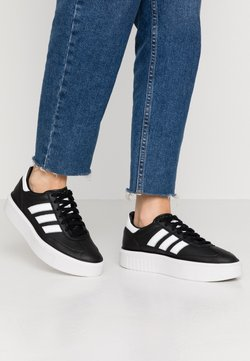 adidas Originals - SLEEK SUPER 72 - Sneaker low - core black/footwear white/crystal white