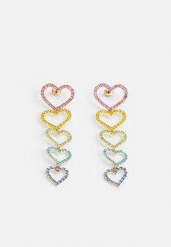Pieces - PCKISTIE EARRINGS - Earrings - gold-coloured/multi