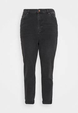 New Look Curves - SRI LANKA MOM - Jeans relaxed fit - black