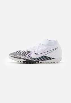 Nike Performance - MERCURIAL 7 ACADEMY MDS TF - Astro turf trainers - white/black