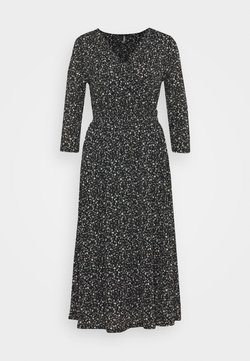 ONLY - ONLPELLA WRAP DRESS - Maxiklänning - black