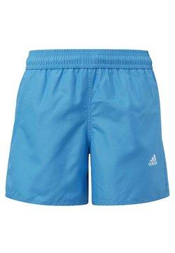 adidas Performance - BADGE OF SPORT PRIMEGREEN REGULAR SWIM SHORTS - Short de bain - blue