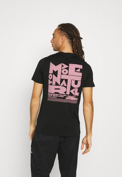 Icebreaker - TECH LITE CREWE GROWERS CLUB - T-Shirt print - black