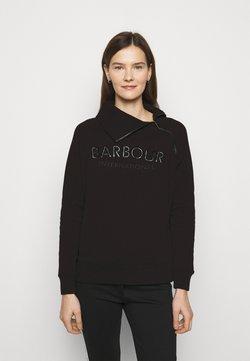 Barbour International - ECLIPSE OVERLAYER - Felpa - black