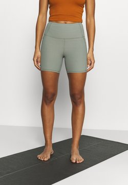 Cotton On Body - POCKET BIKE SHORT - Tights - basil green