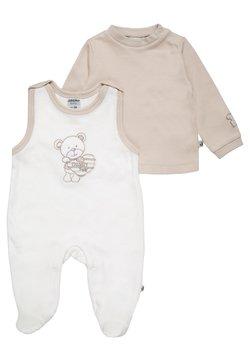 Jacky Baby - BEAR SET - Strampler - offwhite/beige