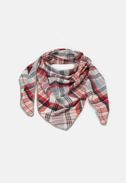 Even&Odd - Scarf - off-white/red /light pink
