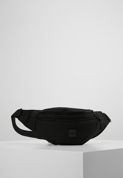 Urban Classics - DOUBLE-ZIP SHOULDER BAG - Bältesväska - black