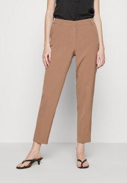 ONLY - ONLVILDA ASTRID CIGARETTE PANT - Spodnie materiałowe - brownie