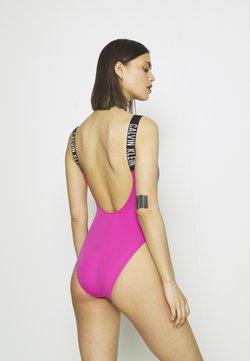 Calvin Klein Swimwear - INTENSE POWER SCOOP BACK ONE PIECE - Bañador - stunning orchid