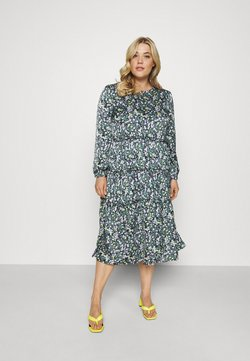 Simply Be - TIERED DRESS - Day dress - black