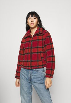 Noisy May - NMNICHELA JACKET - Winterjacke - red