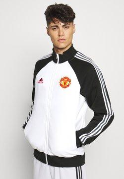 adidas Performance - MUFC ICONS - Trainingsjacke - black/white