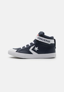 Converse - PRO BLAZE STRAP VARSITY UNISEX - Sneakers high - obsidian/white/university red