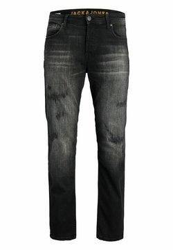Jack & Jones - MIKE  - Straight leg jeans - black denim
