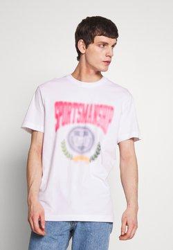 Weekday - BILLY SPORTMANSHIP - Print T-shirt - white