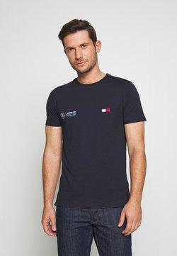 Tommy Hilfiger Tailored - TOMMY X MERCEDES-BENZ - Camiseta básica - blue