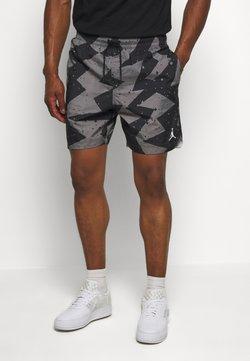 Jordan - JUMPMAN POOLSIDE - Shorts - smoke grey/white