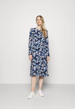 Esprit Collection - DRESS - Freizeitkleid - dark blue
