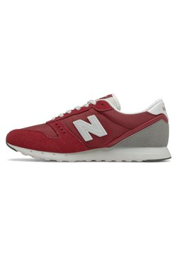 New Balance - Sneaker low - red/grey