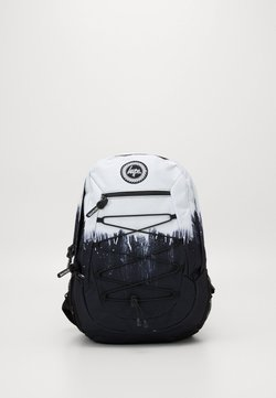 Hype - MAXI BACKPACK DRIPS - Reppu - black/white