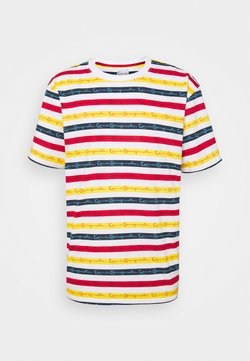 Karl Kani - ORIGINALS STRIPE TEE - T-Shirt print - white