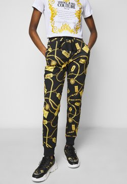 Versace Jeans Couture - SWEATPANTS - Jogginghose - black