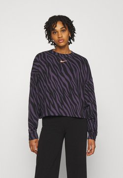 Nike Sportswear - CREW - Sweatshirt - dark raisin
