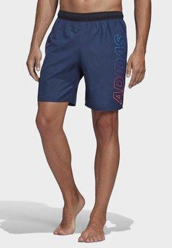 adidas Performance - LINEAGE CLX SHORTS - Swimming shorts - tech indigo