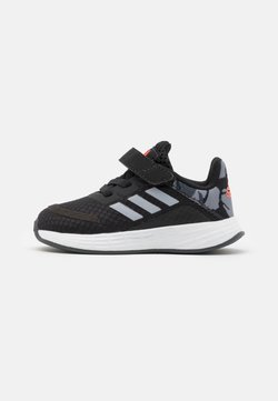 adidas Performance - DURAMO SL SHOES - Obuwie treningowe - core black/halo silver/solar red