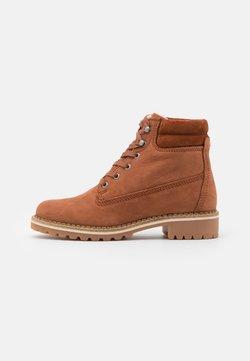 Vero Moda - VMSINEA BOOT - Ankle Boot - auburn