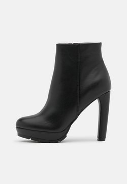 Anna Field - LEATHER - High Heel Stiefelette - black