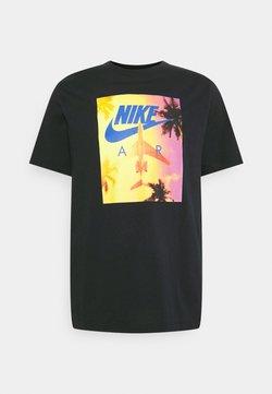 Nike Sportswear - TEE BY AIR PHOTO - T-shirt imprimé - black