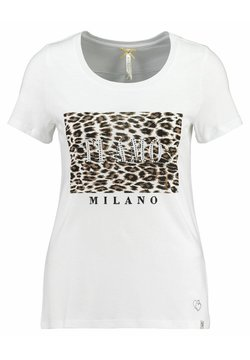 Key Largo - WT AMOUR ROUND - T-Shirt print - weiss