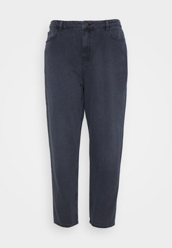 NU-IN - HIGH RISE MOM - Jeans baggy - dark grey