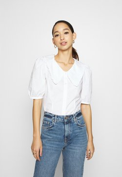 Monki - SANDRA BLOUSE - Camicia - white